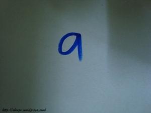 ada apa dengan 'a'